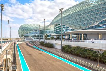 The Yas Marina Grand Prix Circuit on January 05, 2017 in Abu Dhabi, United Arab Emirates