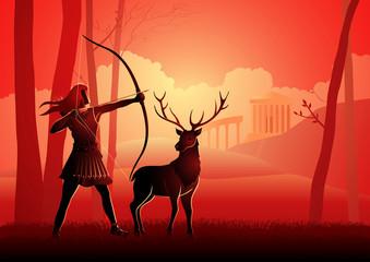 Greek Gods and Goddess Artemis