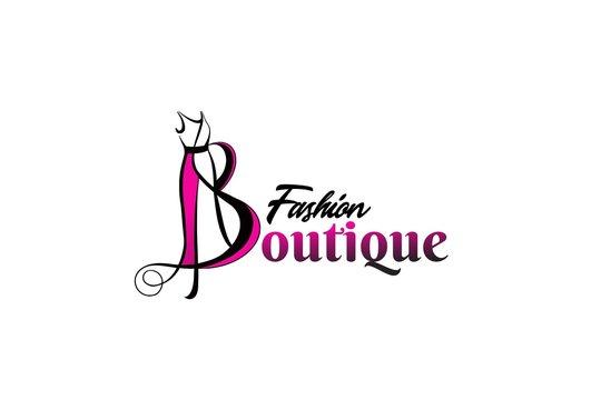 fashion boutique logo template