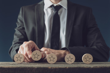 Business rating and quality concept