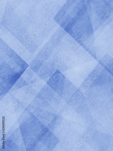 Abstract Light Blue Background With Old Texture And Layers