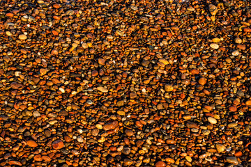 pebble stones on a beach