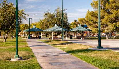 Desert Bloom Park, Las Vegas, NV.