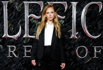 "UK premiere of ""Maleficent Mistress of Evil'' in London"