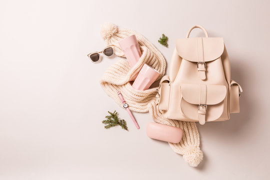 Winter or autumn fashion accessories - christmas gifts