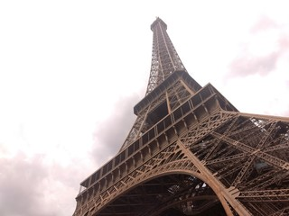 Aluminium Prints Eiffel Tower Eiffel Tower