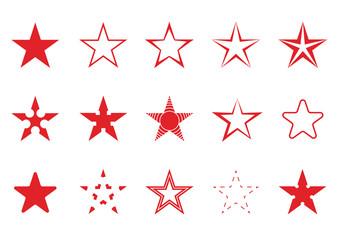 Red star set