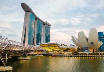 Papiers peints Singapoure Singapur Skyline 2