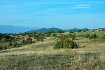 Croatia-view of a mountains in the Paklenica National Park