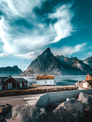 village in Lofoten