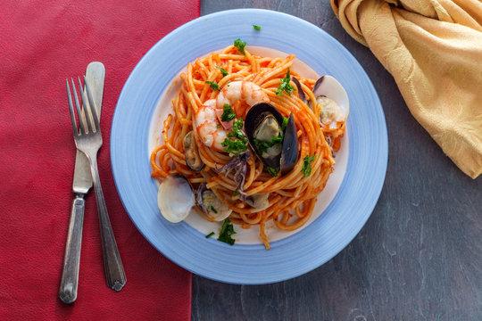 Seafood Pasta Pescatore
