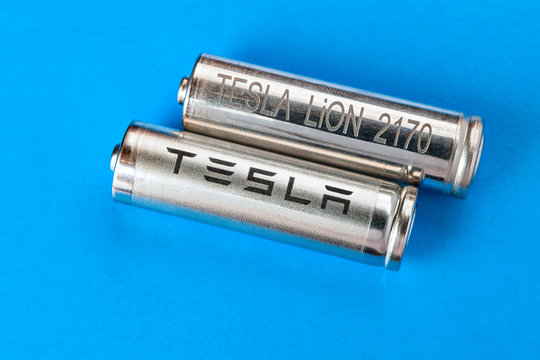 Automotive-grade lithium-ion battery cells to Tesla.