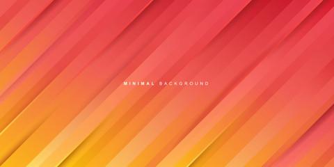 Orange gradient stripes background