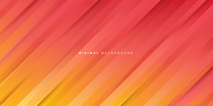 Orange gradient stripes background