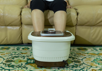 electric foot spa bowl