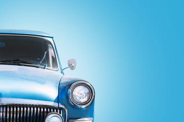 Fond de hotte en verre imprimé Vintage voitures Vintage Russian Car 60-70