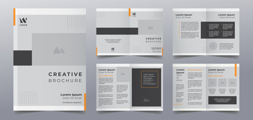 business brochure pages design templates