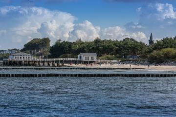 Ustronie Morskie. Morze Bałtyckie,plaża