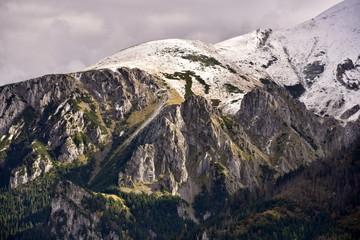 Obraz Polish mountains Tatry,  Jesien w Tatrach - fototapety do salonu