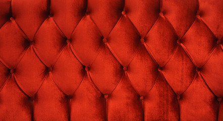 red velvet texture close up red chesterfield sofa pattern velvet as background