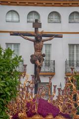 Wall Mural - Hermandad de la Sed, semana santa de Sevilla, Jesús en la cruz