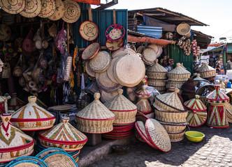 Addis Mercato in Addis Abeba, Ethiopia in Africa.