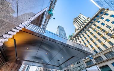 Modern buildings of Downtown Manhattan