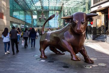 The Bullring Bull in Birmingham