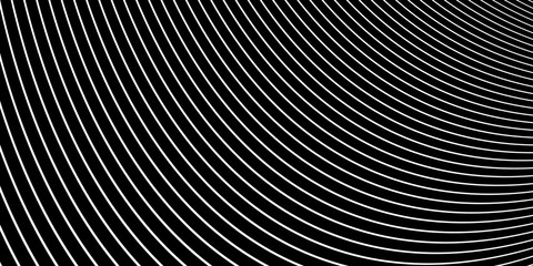 Curved line background. Modern dark abstract texture