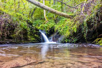 Kleiner Wasserfall des Brohlbaches bei Treis-Karden an der Mosel