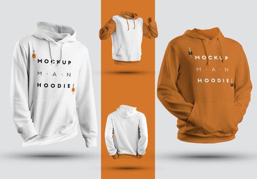 4 Hoodie Mockups