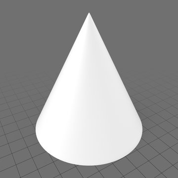 Primitive hollow cone