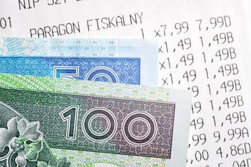 Fototapeta Paragon fiskalny. obraz