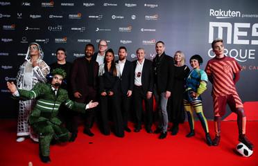 "Premiere of Cirque du Soleil's ""Messi 10"" show in Barcelona"