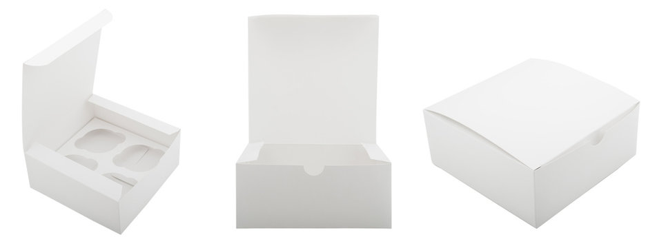 Cardboard box for cakes
