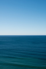 Ocean view in Baja California, Mexico.