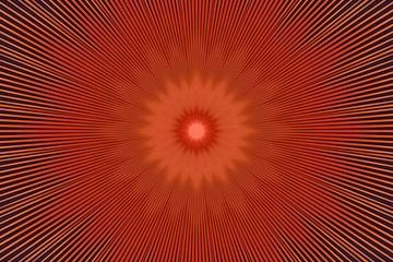 orange flower pattern floral kaleidoscope. fabric abstract.