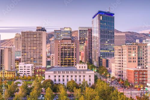 Fototapete Salt Lake City, Utah, USA