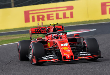 2019 F1 Japan Grand Prix Practice Day Oct 11th
