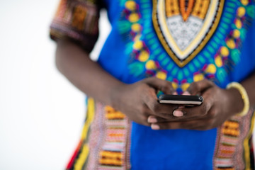 amfrican mal on phone