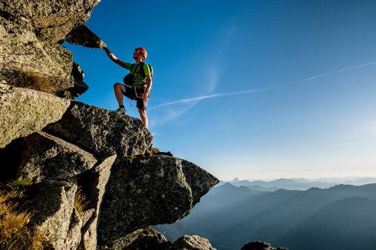 Alpine climibng