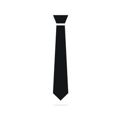 Tie icon vector illustration. Tie flat design. tie simple logo