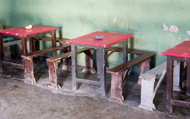 Bar in the south of Madagascar