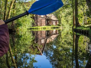 Kanu fahren im Spreewald