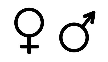 Gender symbol vector.