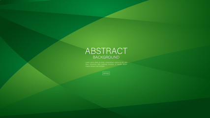 Green polygon background vector can be use cover, banner, wallpaper, flyer, brochure, book, printing media, card, web page. triangles  abstract background Wall mural