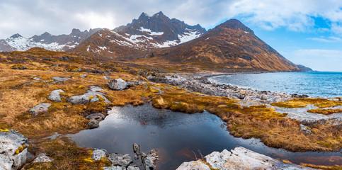 The Senja Island in Norway