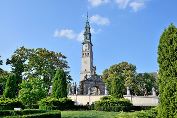 Jasna Gora sanctuary in Czestochowa, Poland