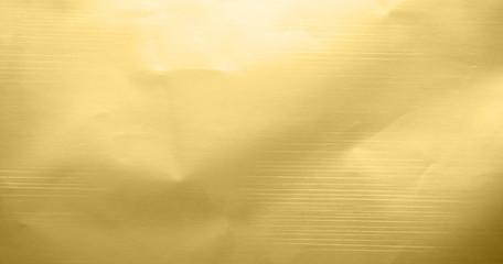 Gold metallic foil texture background