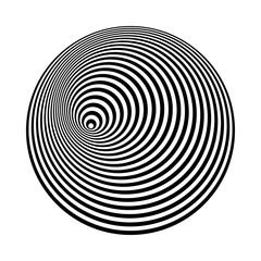 concentric lines art. abstract shapes background